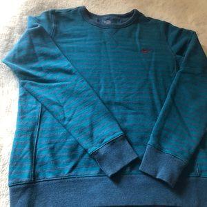 Nike striped sweatshirt grey condition size XL